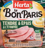 Le bon Paris Tendre & Epais à l'Etouffée - Produit
