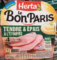 Le bon Paris Tendre & Epais à l'Etouffée - Product