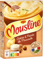 MOUSLINE Purée Crème Muscade 500g (4x125g) - Product - fr