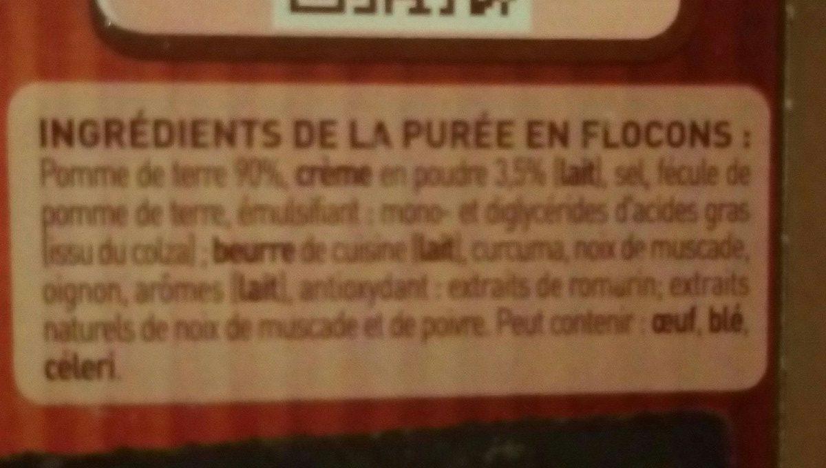 MOUSLINE Purée Crème Muscade 500g (4x125g) - Ingredients - fr