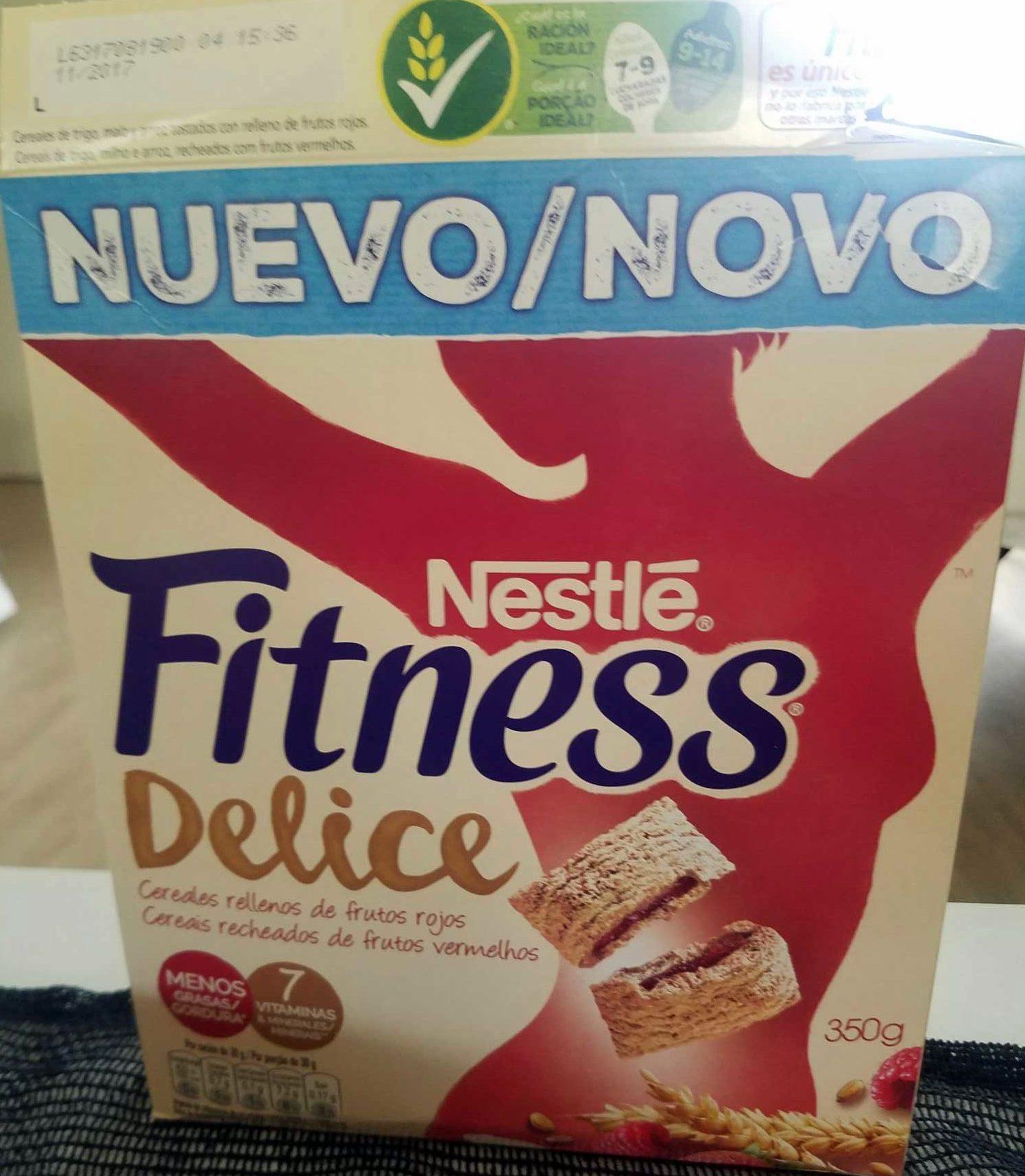 Fitness Delice frutos rojos - Producto - es