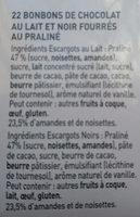 Escargots - Ingrediënten