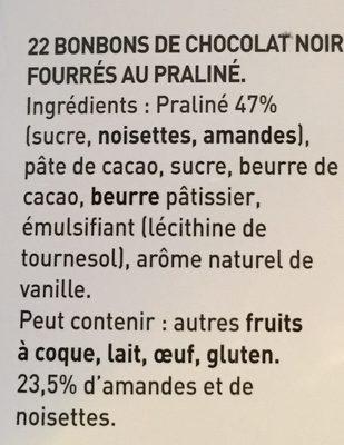 Escargot Noir - Ingredientes