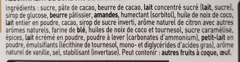 Lanvin Ass. col. carrousel - Ingrediënten