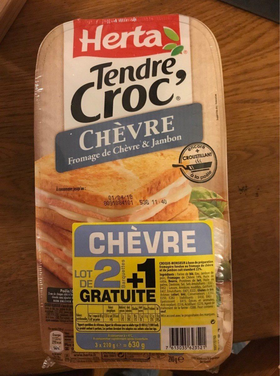 Tendre Croc' Chèvre - Product - fr