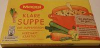Klare Suppe - Produkt - de