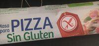 Masa para pizza sin gluten y sin lactosa - Product - es