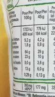 Fitness croquant d'avoine - Nutrition facts