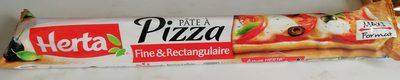 Pâte à pizza fine et rectangulaire - Product