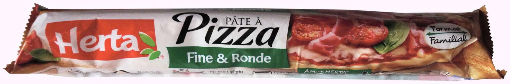 Pâte à pizza Fine & Ronde - Product - fr