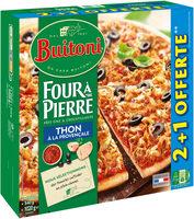 BUITONI FOUR A PIERRE Pizza Surgelée Thon 3 packs x 340g (2+1 offerte) - Produit - fr