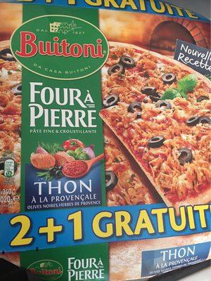 Pizza thon à la provencale - Product