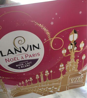 Noel à Paris chocolats noir, lait & blanc - Produit