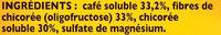 RICORE Original boite 260g - Ingredientes - fr