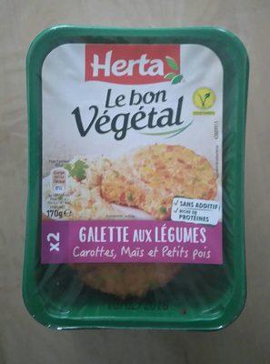 Le Bon Végétal - Galette aux Légumes - Produit - fr