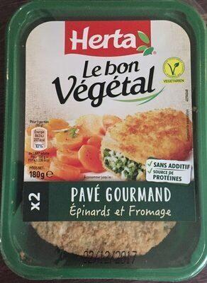 Le bon végétal épinards et fromage - Produit - fr