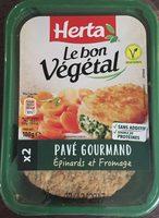 Le bon végétal épinards et fromage - Produit