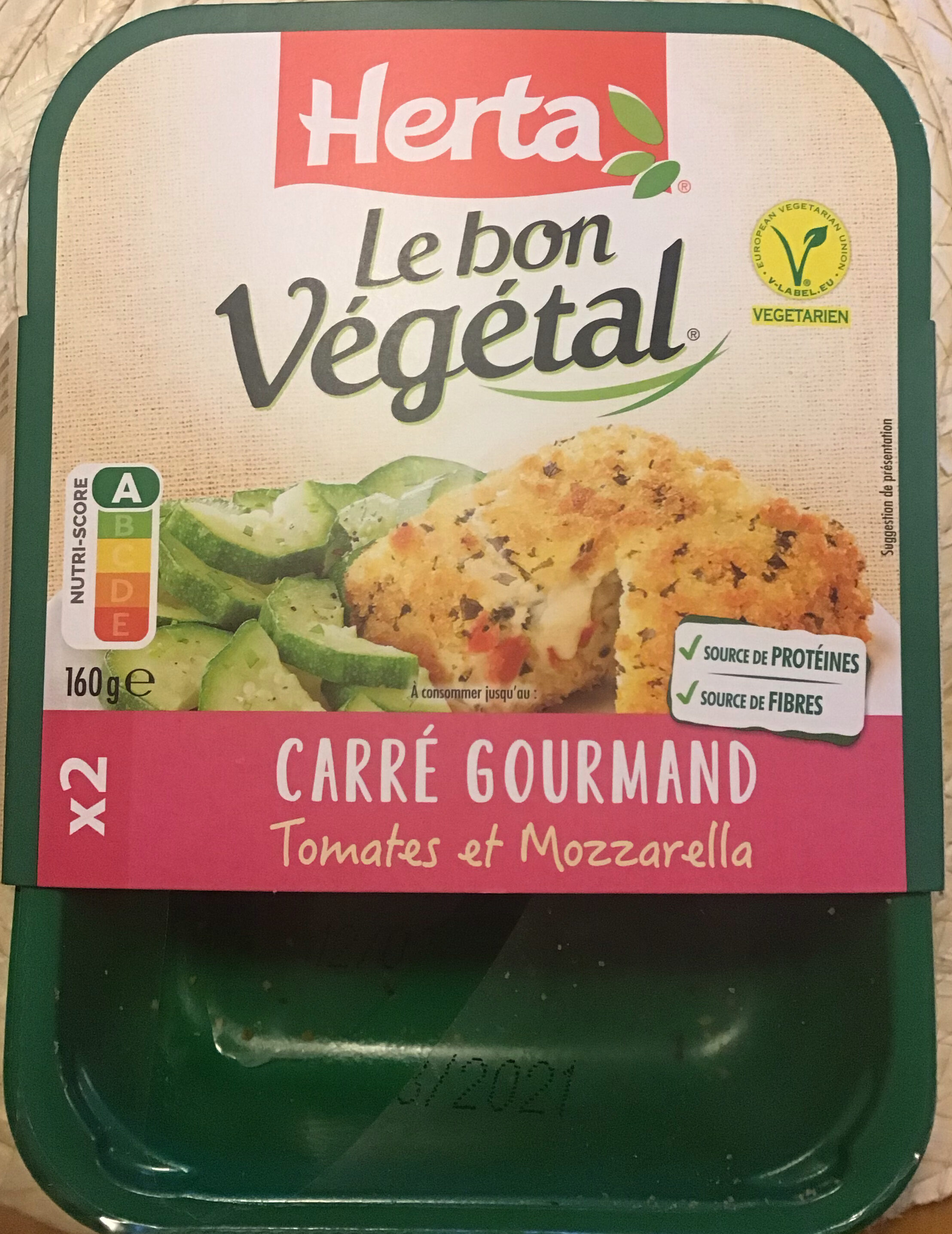 Carré gourmand Tomates et Mozzarella - Product - fr