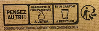 Carré gourmand Tomates et Mozzarella - Recyclinginstructies en / of verpakkingsinformatie - fr