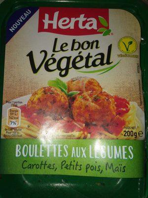 Boulettes aux légumes - Produit - fr