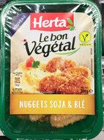 Le bon Végétal Nuggets Soja & Blé - Produit - fr