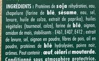 Le bon Végétal Nuggets Soja & Blé - Ingrédients - fr