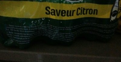 Perrier Saveur citron - Ingredientes