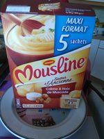 Purée en flocons de Pommes de terre, crème & noix muscade Mousline - Product - fr