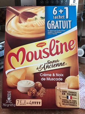 Saveur à l'Ancienne Crème & Noix de Muscade (6+1 gratuit) - Product - fr
