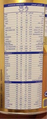 S-26 Promil Gold 2 - Informations nutritionnelles - fr