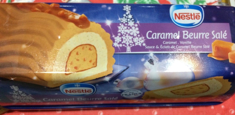 Bûche glacée Caramel Beurre Salé - Product - fr
