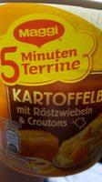 Kartoffelbrei mit Röstzwiebeln & Croutons - Produit - fr
