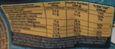 Quinoa mix - Voedingswaarden