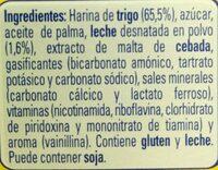 GALLETAS GALLETITAS NESTLE - Ingredients