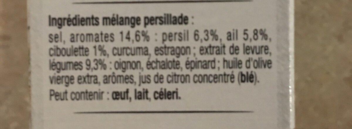 Mélanges Parfaits Persillade - Ingrédients