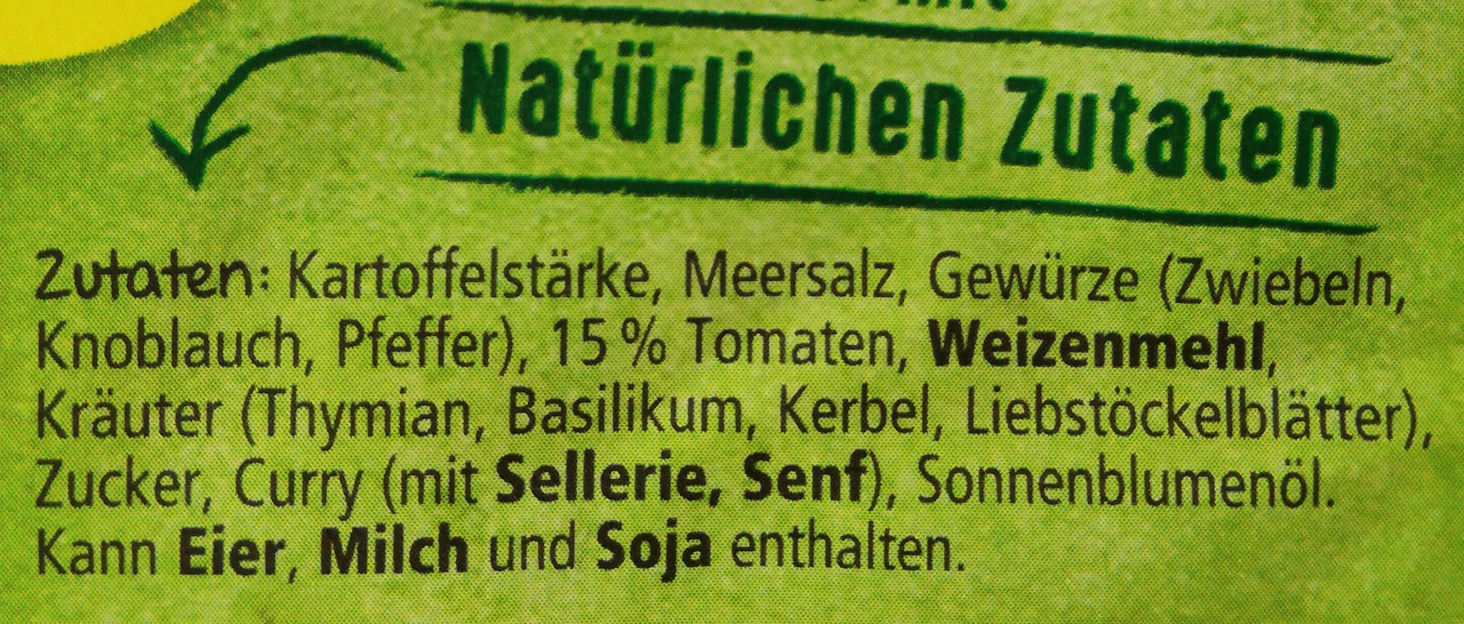Lachs mit Zucchini und Tomaten - Ingrédients - de