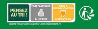 FRAICH'UP SO TASTY Italian Burger - Instruction de recyclage et/ou informations d'emballage - fr