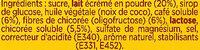 RICORE Cappuccino - Ingredienti - fr