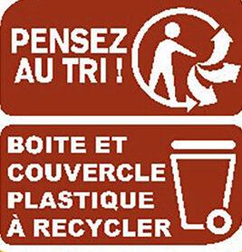 RICORE Cappuccino - Istruzioni per il riciclaggio e/o informazioni sull'imballaggio - fr