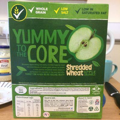 Shredded wheat apple crumble - 2