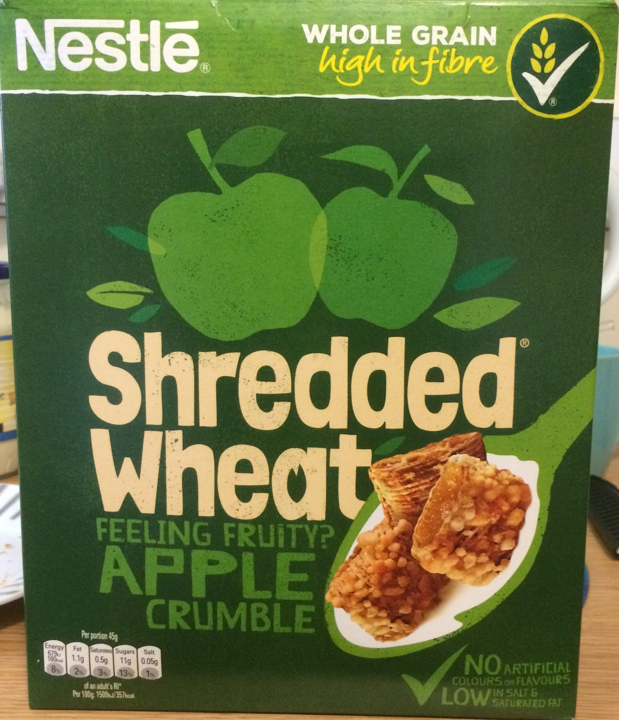 Shredded wheat apple crumble - Product