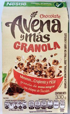 AVENA Y MAS GRANOLA CHOCOLATE - Product