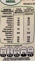 AVENA Y MAS GRANOLA CHOCOLATE - Nutrition facts