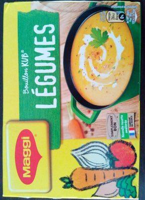 Bouillon Kub légumes - Product - fr