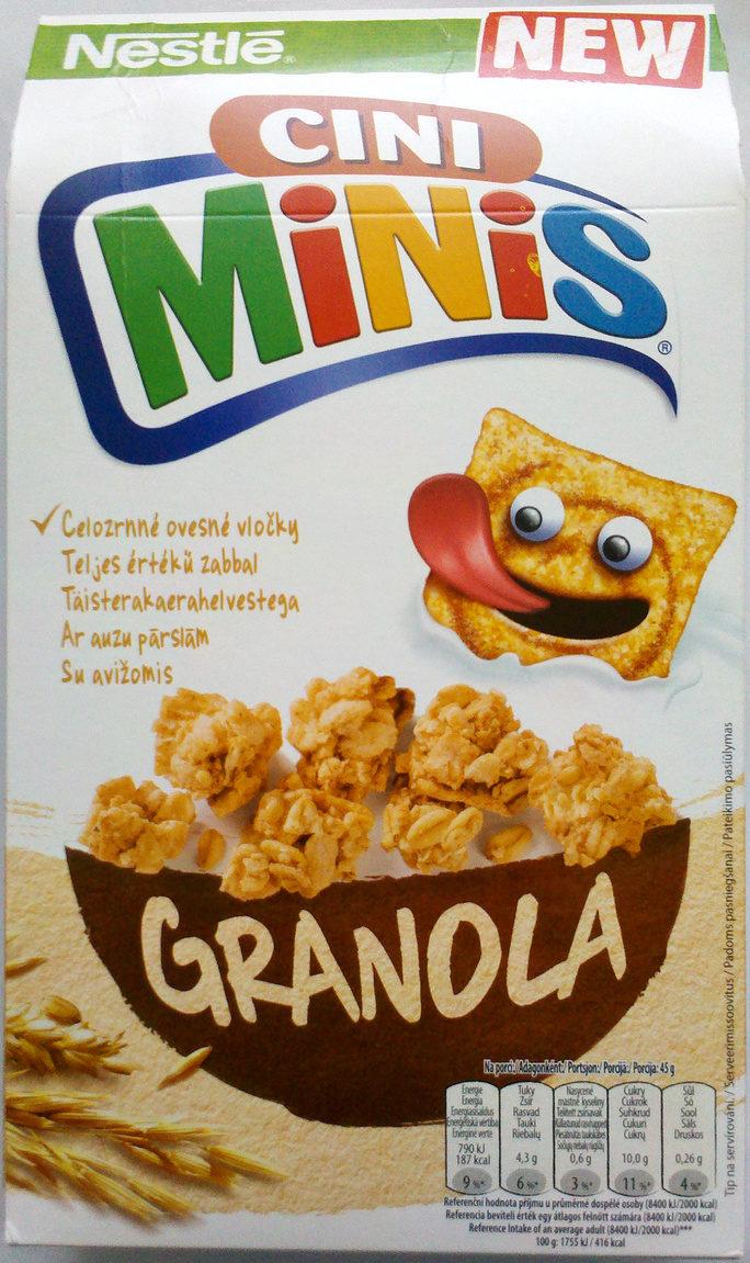 Nestlé Cini Minis Granola - Product