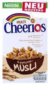 Cheerios Crunchy Muesli - Product - fr