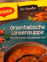 Orientalische Linsensuppe - Product