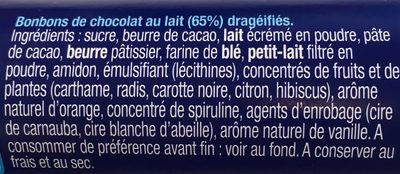 Smarties - Nestle Smarties Ingredients