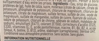 Clinutren café - Ingredients - fr