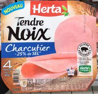 Tendre Noix Charcutier -25% de sel - Product